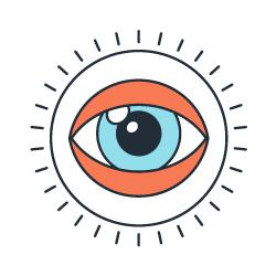 Ilustração de um olho
