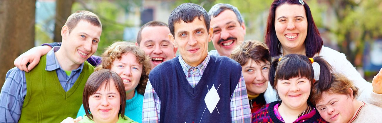 Grupo de pessoas com deficiência